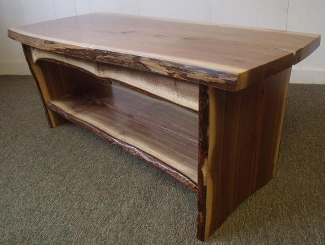 two block storage coffee table walnut dwell woodworkers photo