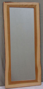 tall wood mirror